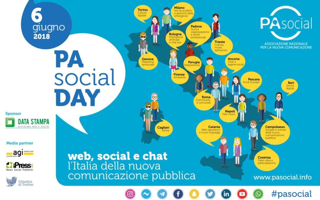 Cittadini e PA, gli italiani cercano informazioni e servizi su web e social. Il 6 giugno si celebra il primo PA Social Day