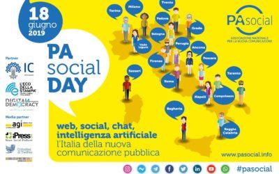 PA Social Day 2019: il 18 giugno in tutta Italia