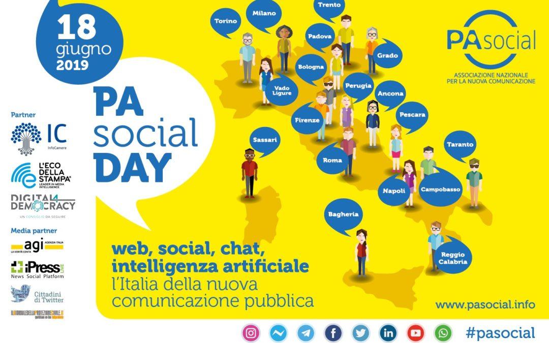 Il 18 giugno torna il PA Social Day l'evento nazionale dedicato alla nuova comunicazione pubblica