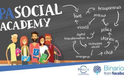 PA Social Academy, arriva la seconda edizione