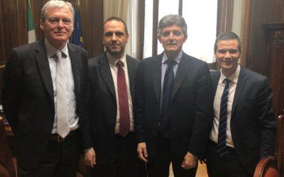 Comunicazione e informazione, PA Social incontra il Sottosegretario all'Editoria Andrea Martella
