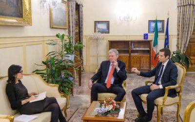 PA Social incontra il Ministro per la Pubblica Amministrazione Fabiana Dadone