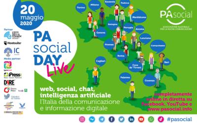 PA Social Day 2020, la maratona della comunicazione digitale seguita da oltre 150mila persone su web e social