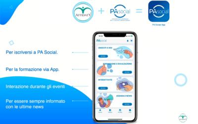 PA Social sceglie la tecnologia blockchain per la nuova App realizzata da Affidaty