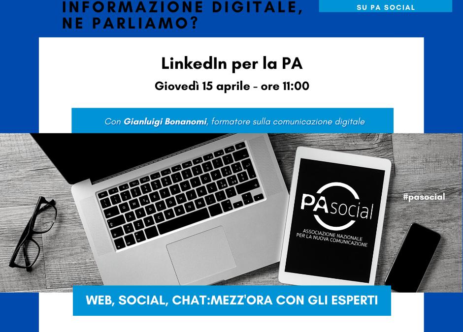 LinkedIn per la PA