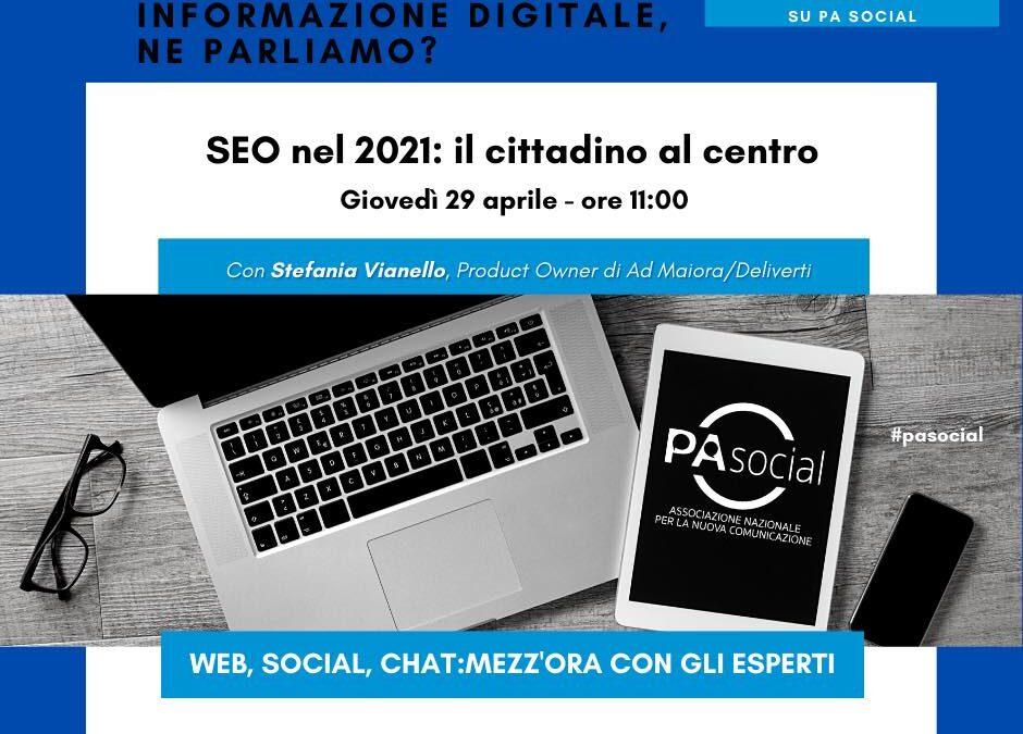 SEO nel 2021: il cittadino al centro