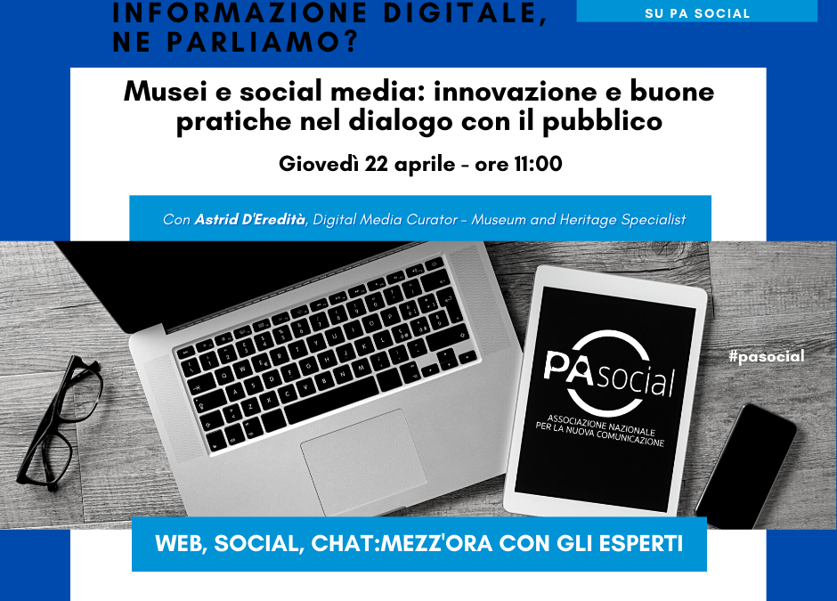 Musei e social media: innovazione e buone pratiche nel dialogo con il pubblico