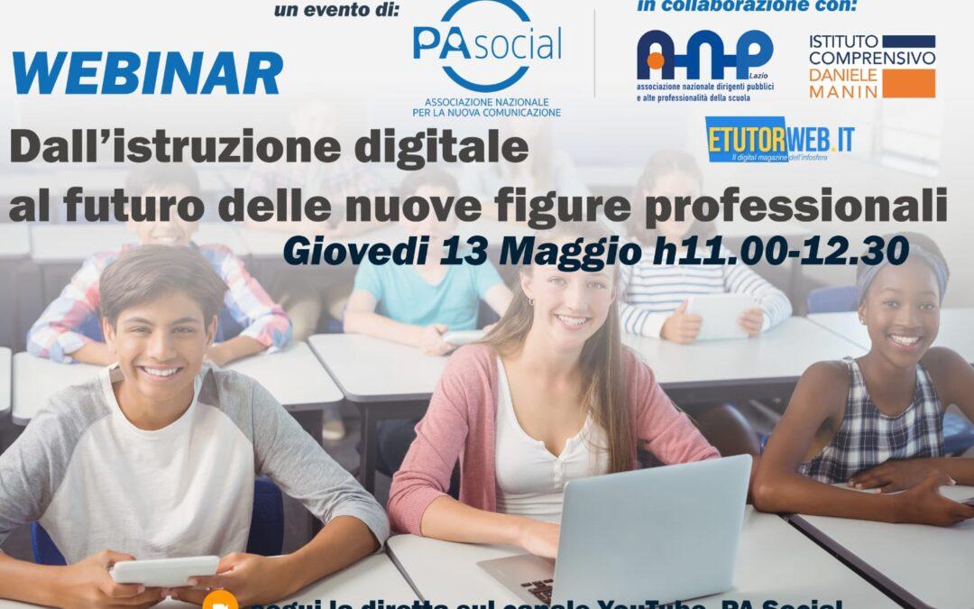 Dall'istruzione digitale al futuro delle nuove figure professionali