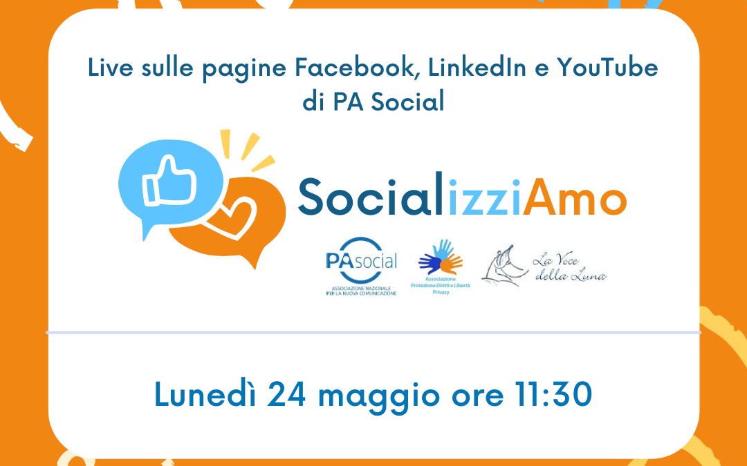 """Social network e minori: la presentazione di """"SocializziAmo"""" progetto firmato PA Social"""