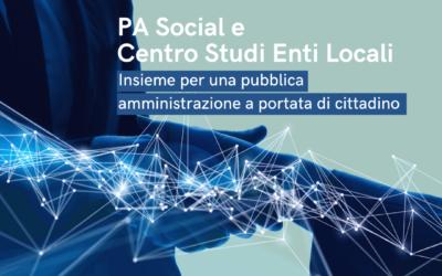 Digitalizzazione e Piano nazionale di ripresa e resilienza: PA Social e Centro Studi Enti Locali insieme per una pubblica amministrazione a portata di cittadino