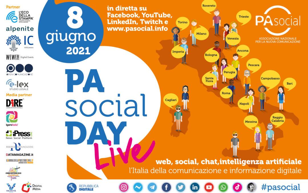 Torna il PA Social Day: l'8 giugno live da tutta Italia la maratona della comunicazione digitale