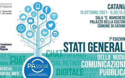 Stati Generali della nuova comunicazione pubblica: la VII edizione a Catania